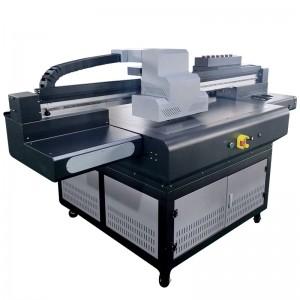 CJ-R9080UV A1 printer with DX10 ceramic plate plastic bag van dam paper foam PVC printing machine