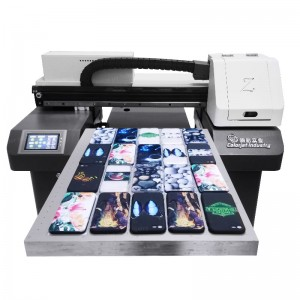 Printing on Phone Case China High Speed Multi-Functional Phone Cover UV Printer for Sale