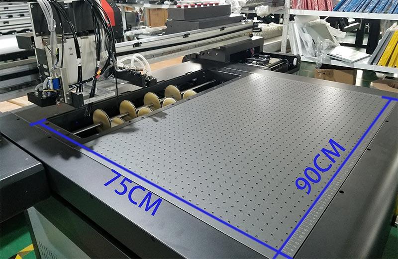CJ 9080UV A1 automatic plastic wood glass pvc acrylic