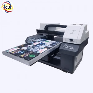 CJ-UV4560D 3 Pcs DX10 Heads A2 UV Printer For Phone Case