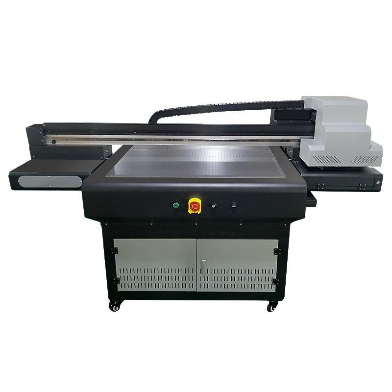 CJ 9080UV A1 automatic plastic wood glass pvc acrylic ceramic tiles Inkjet uv flatbed printer Featured Image