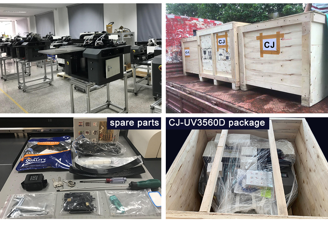 facotry uv printer packing