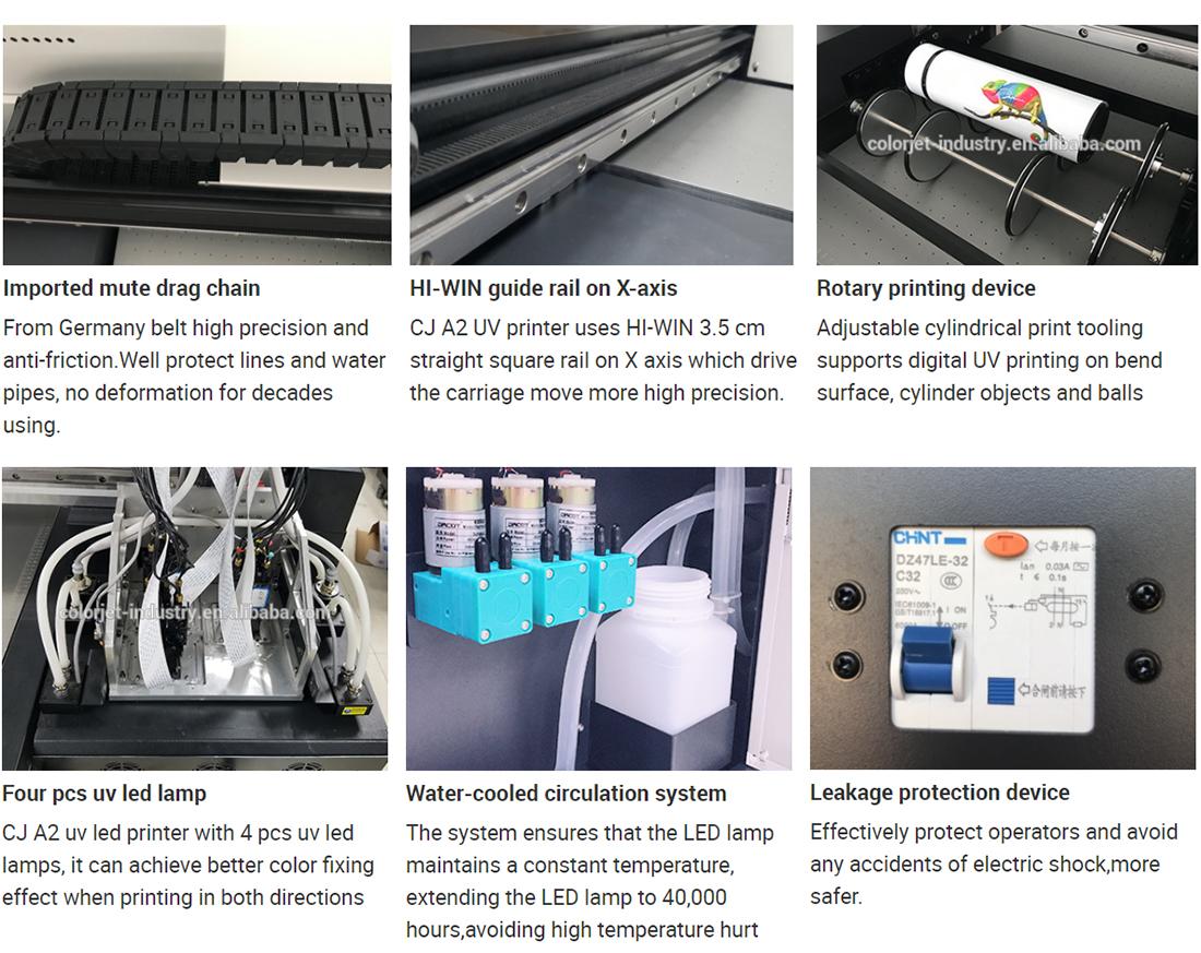 A2 uv inkjet printer more details