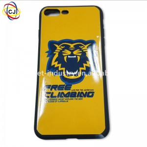 cj A2 uv printer with varnish inks for phone cover case