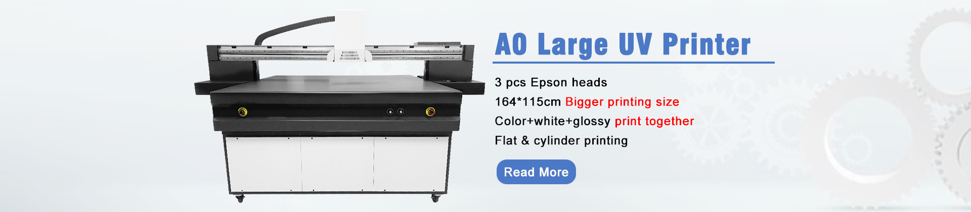 large uv printer