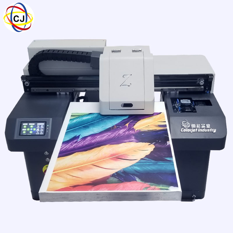CJ-UV4560D 3 Pcs DX10 Heads A2 UV Printer For Phone Case Featured Image
