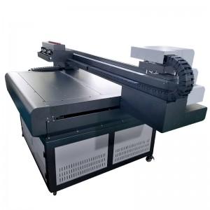 CJ 9080UV A1 automatic plastic wood glass pvc acrylic ceramic tiles Inkjet uv flatbed printer