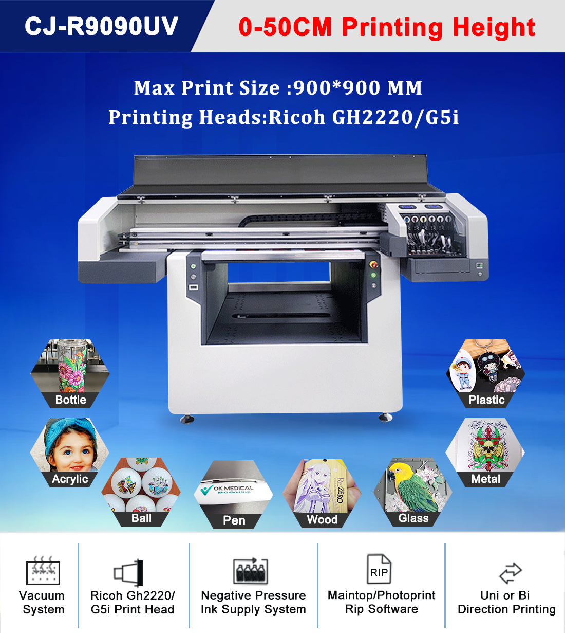 uv cylinder printer