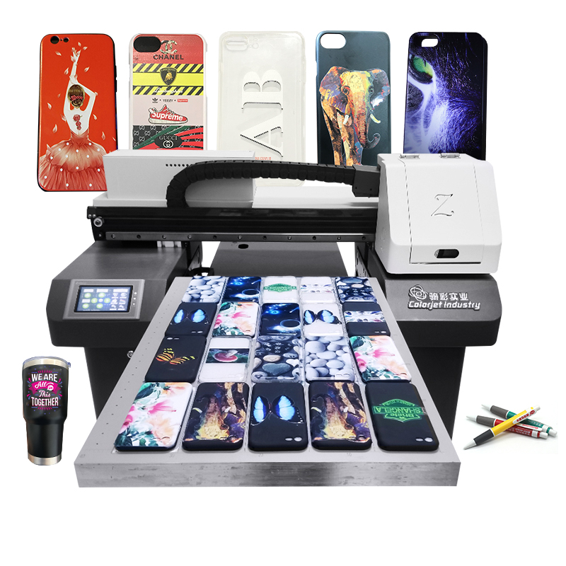 Printing on Phone Case China High Speed Multi-Functional Phone Cover UV Printer for Sale Featured Image