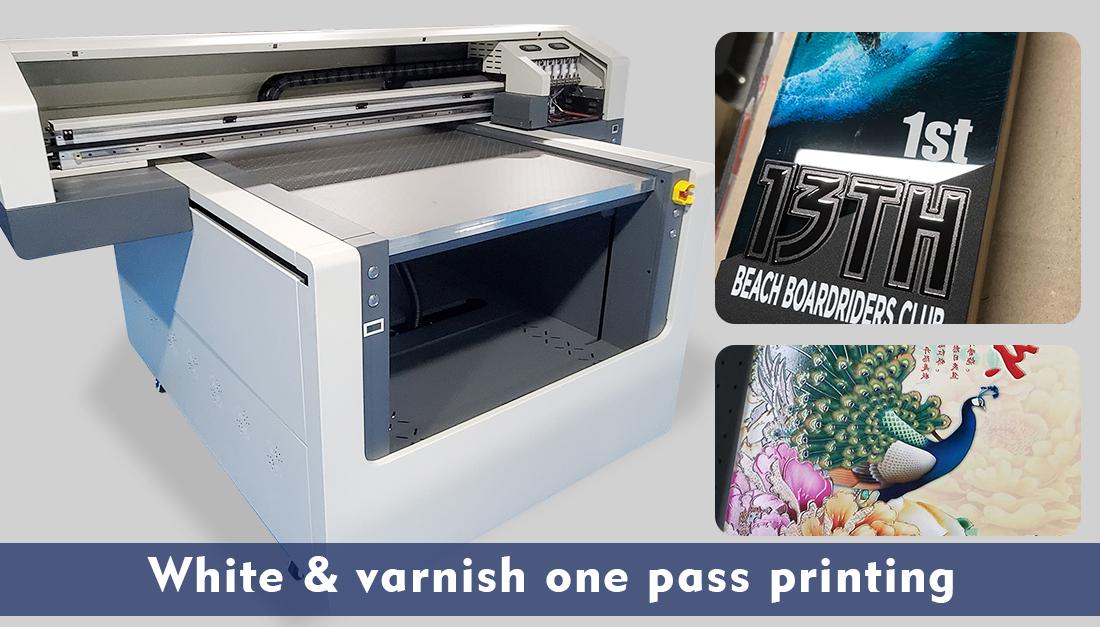 varnish uv machine